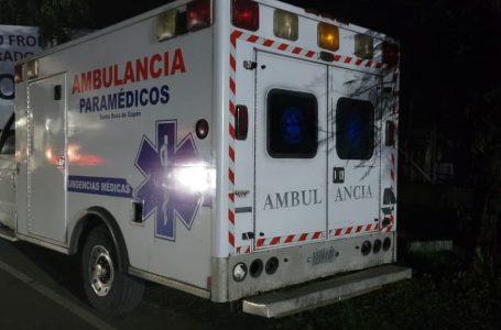 Detienen a dos hondureños cuando trasladaban a 6 migrantes nicaragüenses en una ambulancia