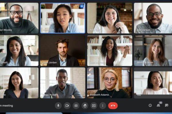 Google Meet ajustará automáticamente el brillo dentro de una videollamada