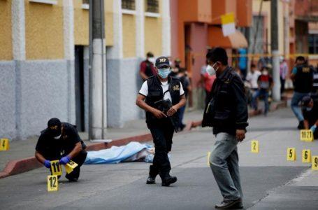 Guatemala registra el aumento de asesinatos durante 2021