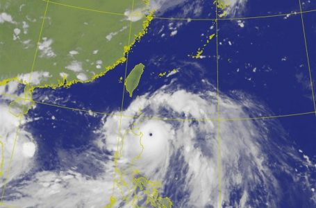 Tifón Chantu pasará por la isla de Taiwán, causando tempestades en la zona sur y este