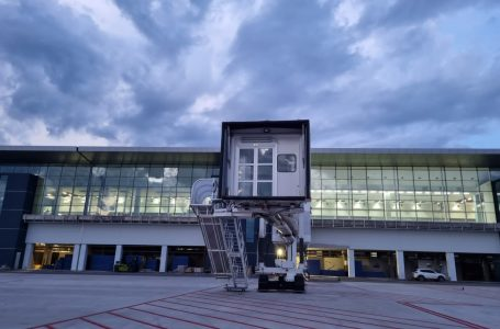 Palmerolaexhibe moderno sistema de iluminación en la terminal de pasajeros