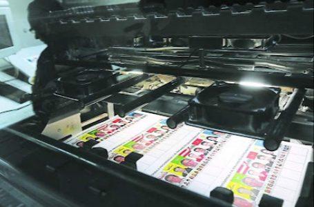 CNE prevé iniciar impresión de papeletas electorales en la primera semana de octubre