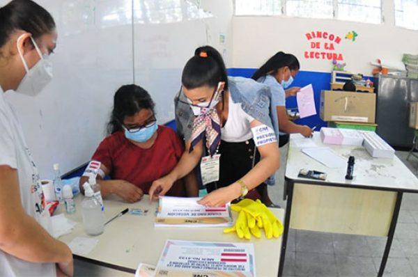 Próxima semana inicia la capacitación de los miembros de las Juntas Receptoras de Votos