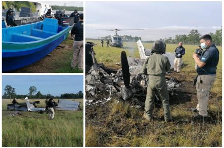 Tres eventos vinculados al narcotráfico ponen nuevamente en la mira a La Mosquitia
