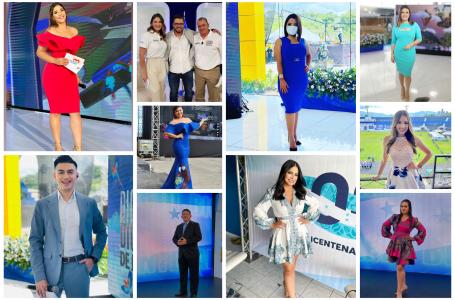 Presentadores hondureños lucieron sus mejores galas en Fiestas Patrias