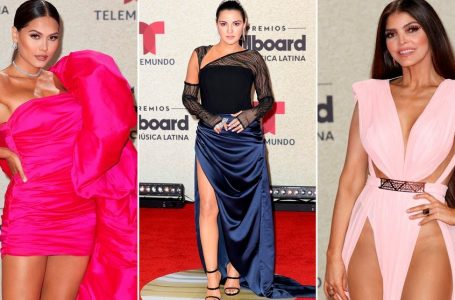 Billboard Latin Music Awards: así lucieron los artistas en la alfombra roja