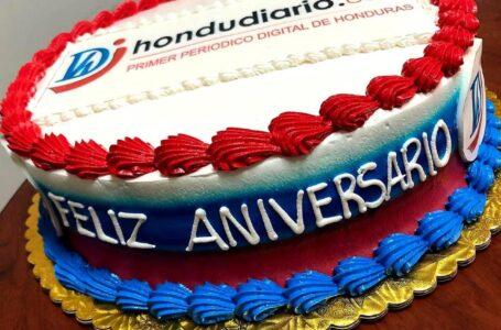¡Gracias! Múltiples felicitaciones recibe Hondudiario en su 18 aniversario