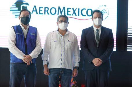 AeroMéxico iniciará operación el 1 de diciembre en Palmerola