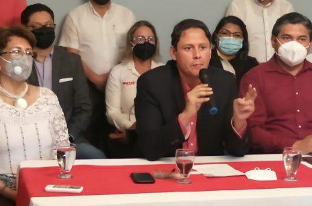 Eduardo Martell anuncia alianza con Wilfredo Méndez y María Luisa Borjas