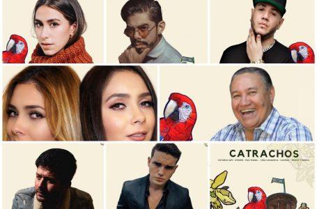 """Varios artistas unen sus voces en el tema """"Catrachos"""" para cerrar el Mes Patrio"""