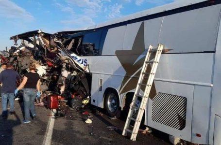 Letal accidente en Sonora dejó 16 muertos y más de dos decenas de heridos