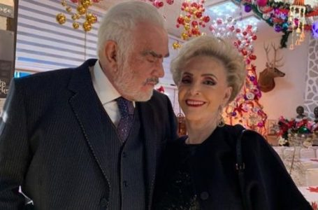 La esposa de Vicente Fernández también está en el hospital