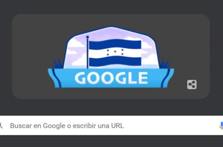 """Google festeja a Honduras con un """"doodle"""" por su Bicentenario de Independencia"""