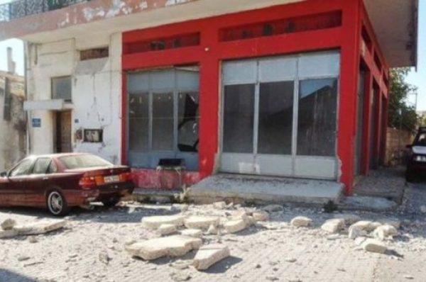 Sismo de magnitud 5.8 deja un muerto y daños en Creta, Grecia