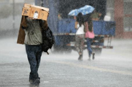 Pronostican lluvias y chubascos en varias zonas del país, para las próximas 48 horas