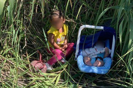 Encuentran a dos niños migrantes de Honduras abandonados a orillas del Río Grande en Texas