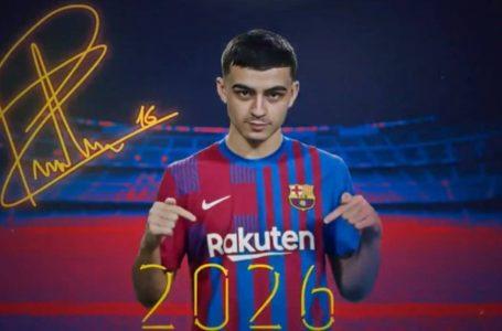 Pedri renueva con el Barcelona y lo blindan con la clausula más cara en la historia del club