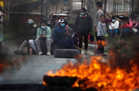 Ecuador en paro nacional contra políticas del Presidente Lasso