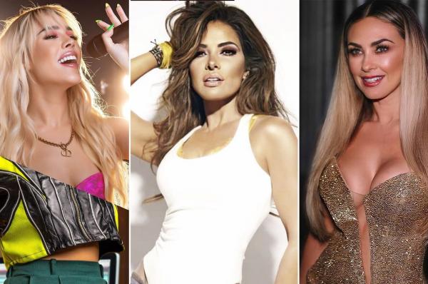 Danna Paola y Aracely Arámbula podrían ser parte de la bioserie sobre Gloria Trevi