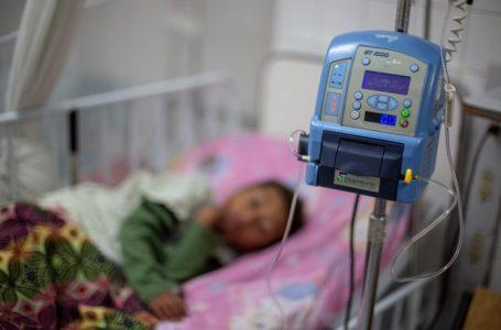 Sala pediátrica del Hospital Escuela se mantiene al 100% de casos de dengue
