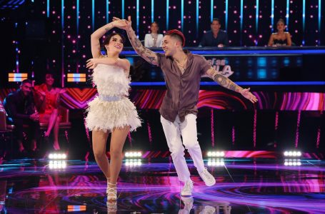 Kimberly Loaiza y JD Pantoja bailaron al ritmo de 'Sopa de Caracol' en reality de Telemundo