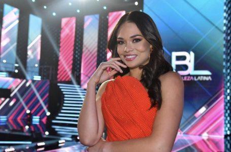 """Hondureña Sirey Morán sigue posicionándose entre las favoritas de """"Nuestra Belleza Latina"""""""