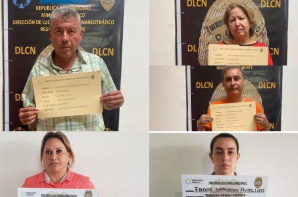 Detención judicial para alcalde de Talanga y su circulo familiar por lavado de activos