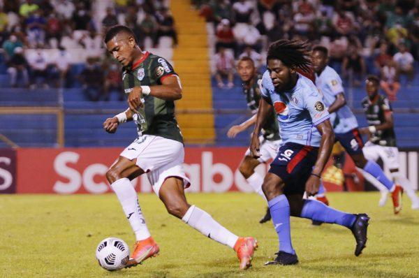 Motagua vence 2-0 a Marathón y acaricia las semifinales en Liga Concacaf