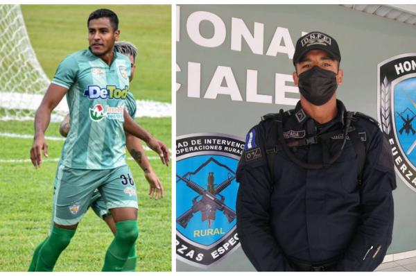 """""""Amo el fútbol pero tengo responsabilidades que sé que debo cumplir"""": policía William Moncada"""