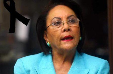 Fallece la exprimera dama Alba Nora Gúnera de Melgar Castro a los 79 años
