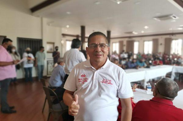 Mario Castro dispuesto a combatir la corrupción desde el Congreso Nacional
