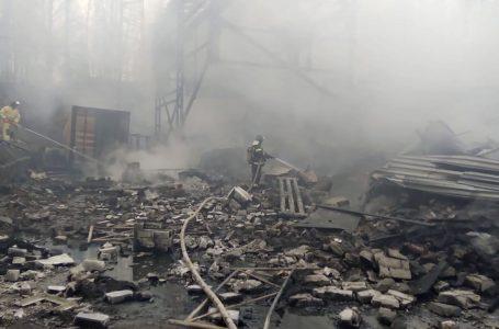 Explotó una fábrica de pólvora en Rusia, reportan al menos 16 muertos