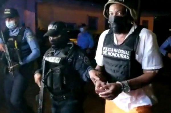 Capturan a hondureño solicitado en extradición por EEUU, socio de Fredy Mármol