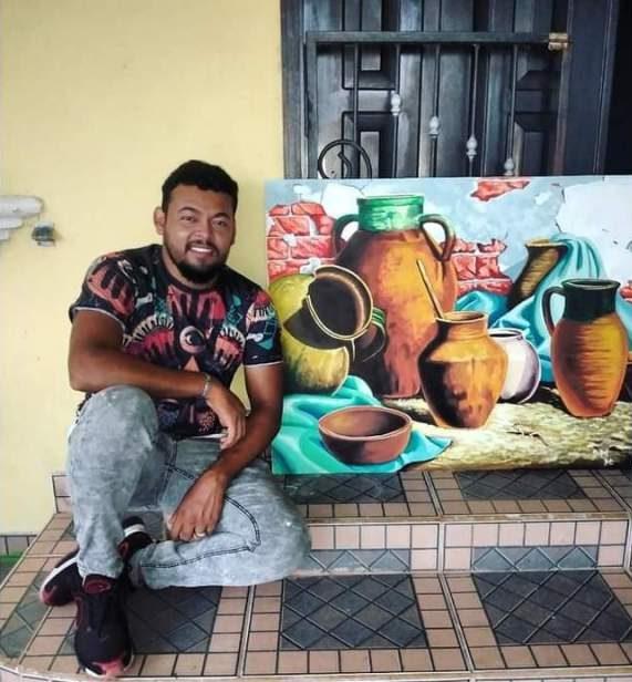 Neskin Orellana, el artista que perfecciona su arte con videos tutoriales